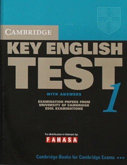 Cambridge Key English Test 1 With Answers - Fahasa Reprint Edition