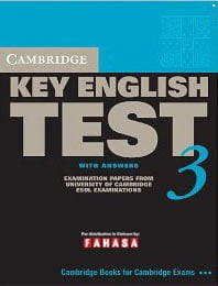 Cambridge Key English Test 3 With Answers - Fahasa Reprint Edition