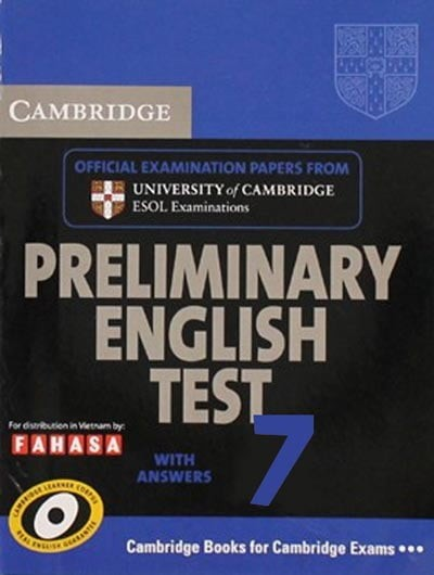 Cambridge Preliminary English Test 7 - Student's Book With Answers - Fahasa Reprint Edition