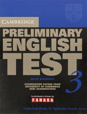 Cambridge Preliminary English Test 3 - Student's Book With Answers - Fahasa Reprint Edition
