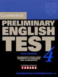 Cambridge Preliminary English Test 4 - Student's Book With Answers - Fahasa Reprint Edition