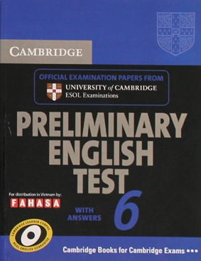 Cambridge Preliminary English Test 6 - Student's Book With Answers - Fahasa Reprint Edition