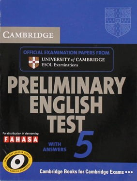 Cambridge Preliminary English Test 5 - Student's Book With Answers - Fahasa Reprint Edition