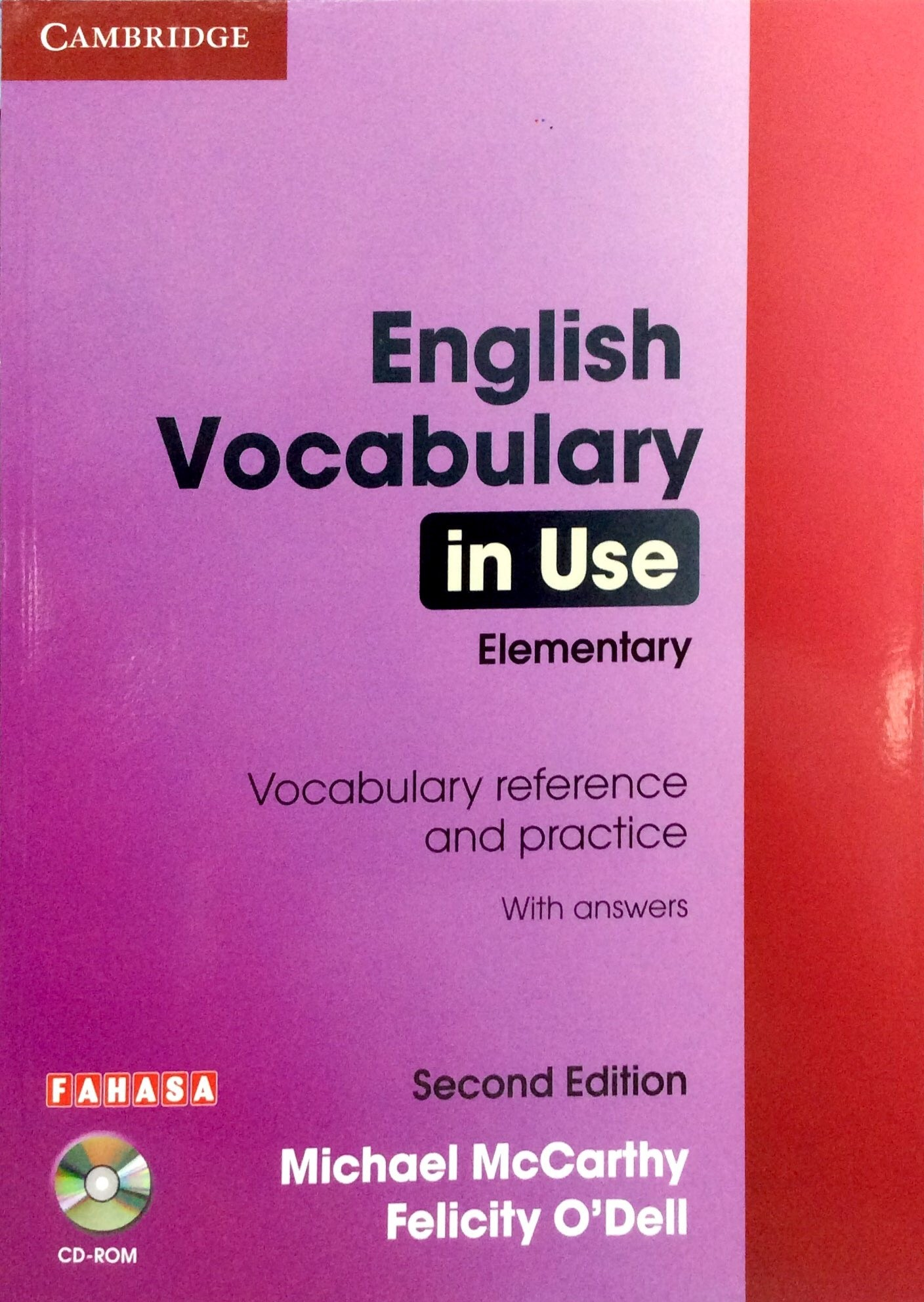 English Vocabulary in Use - Elementary (Sách kèm CD)