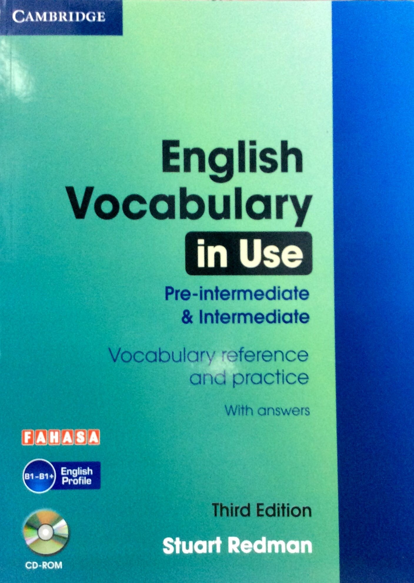 English Vocabulary in Use - Pre Inter & Intermediate (Sách kèm CD)