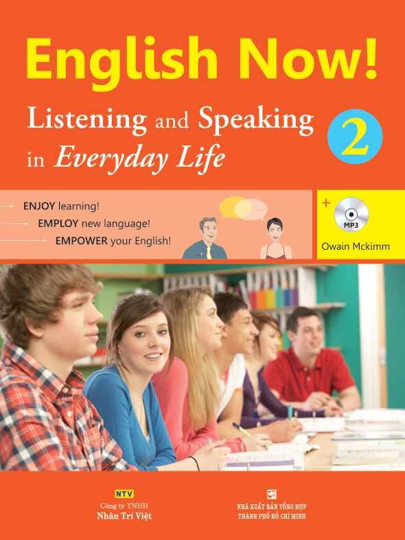 English Now! 2 – Listening and Speaking in Everyday Life