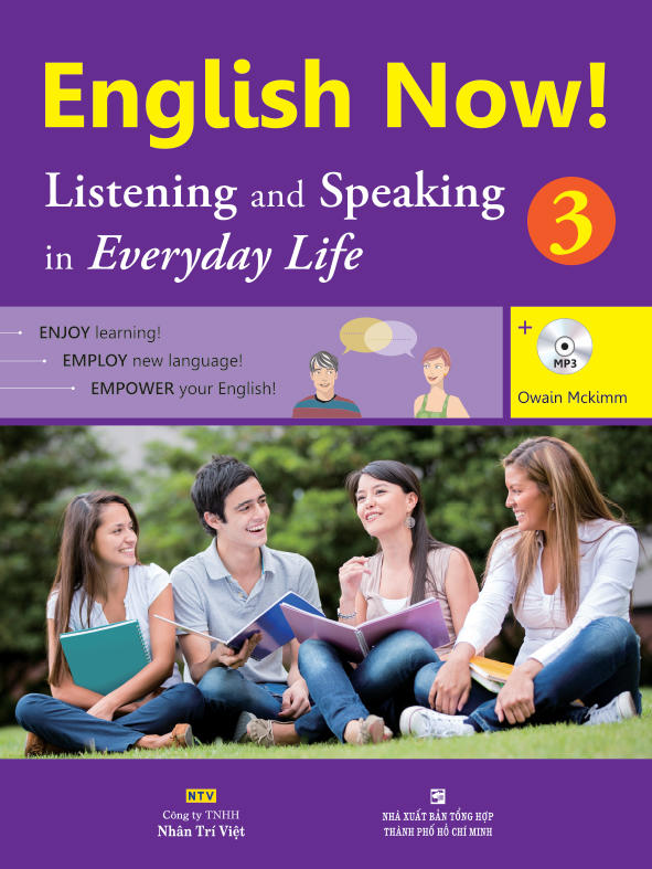 English Now! 3 – Listening and Speaking in Everyday Life