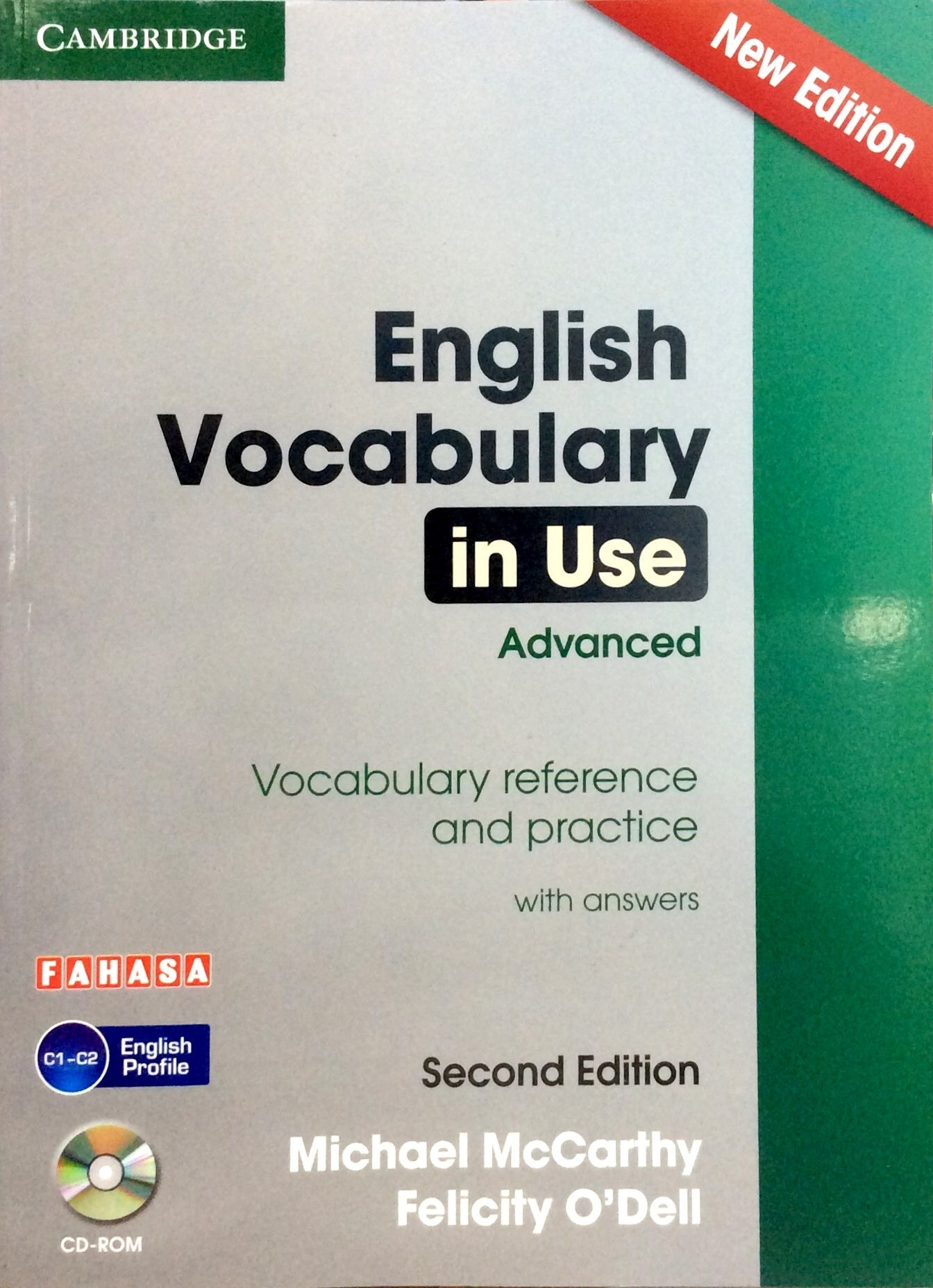 English Vocabulary in Use - Advanced (Sách kèm CD)