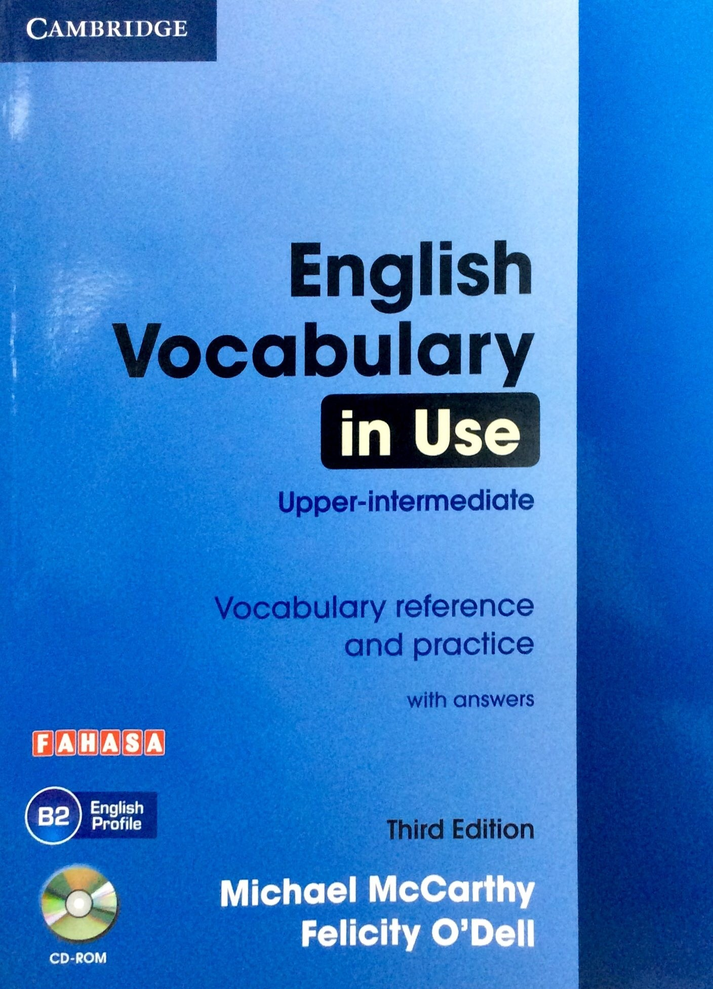 English Vocabulary in Use - Upper Intermediate (Sách kèm CD)