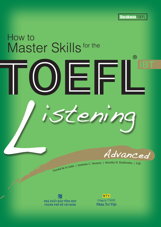How to Master Skills for the TOEFL iBT: Listening Advanced (Sách kèm CD)