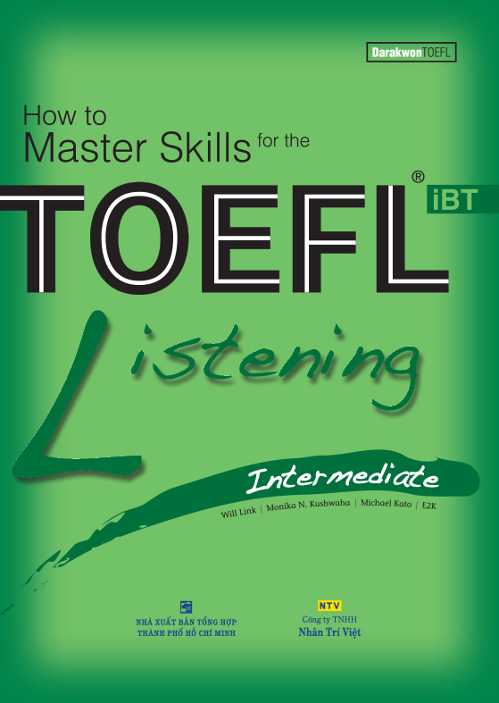 How to Master Skills for the TOEFL iBT: Listening Intermediate (Sách kèm CD)