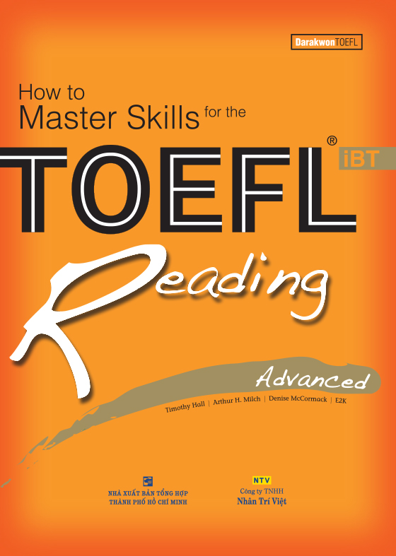 How to Master Skills for the TOEFL iBT: Reading Advanced