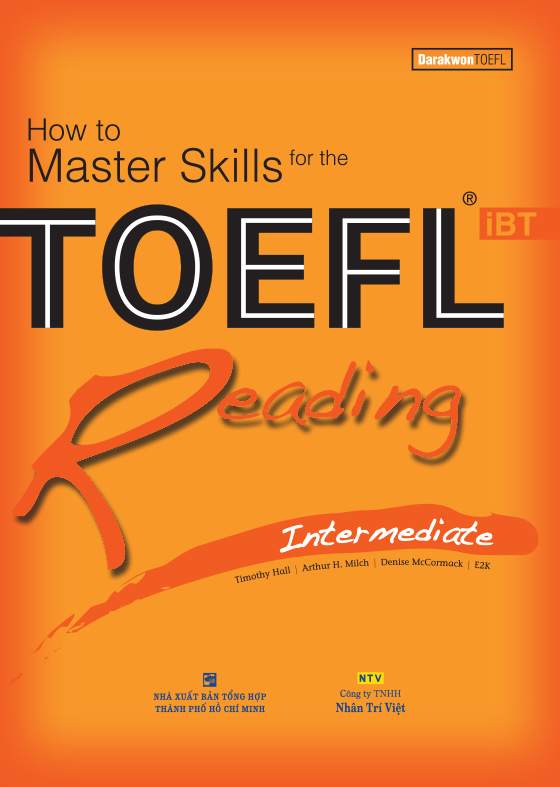 How to Master Skills for the TOEFL iBT: Reading Intermediate
