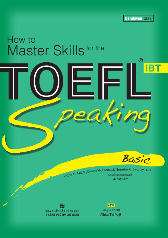 How to Master Skills for the TOEFL iBT: Speaking Basic