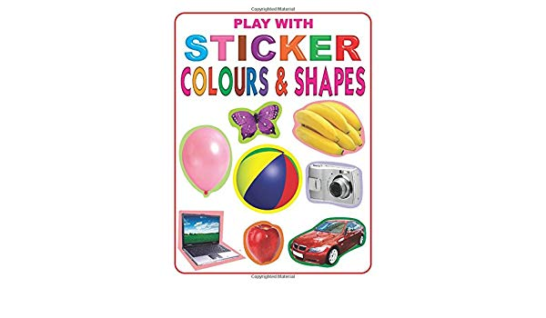 Play with Sticker - Colour and Shapes