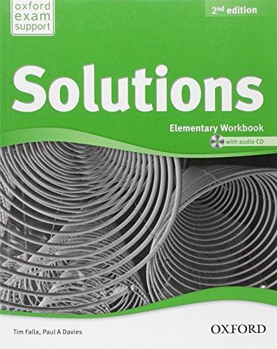 Solutions - Elementary - Workbook and Audio CD