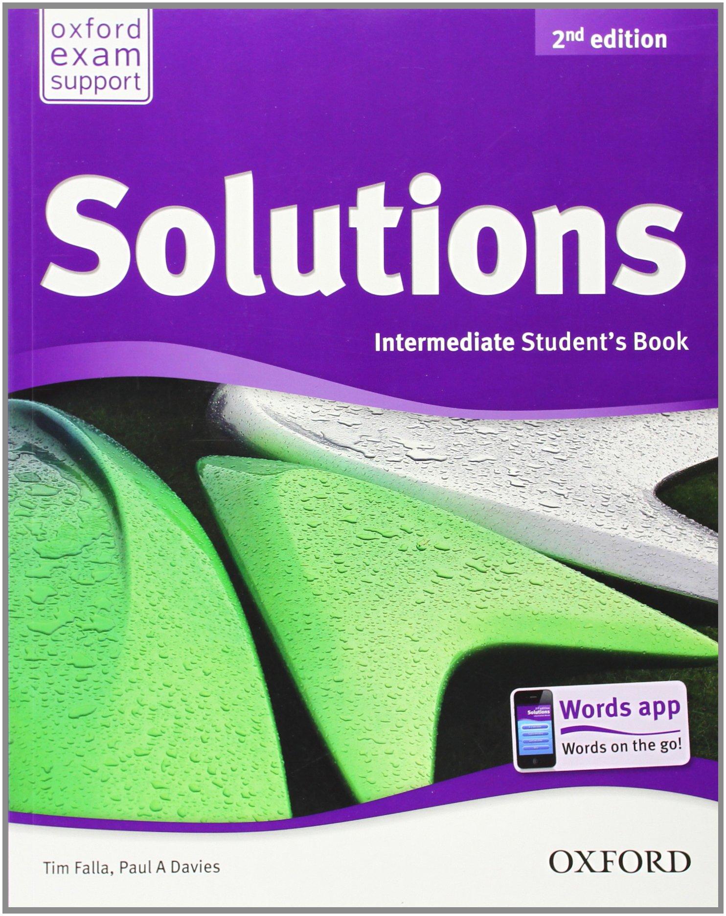 Solutions - Intermediate - Student's Book