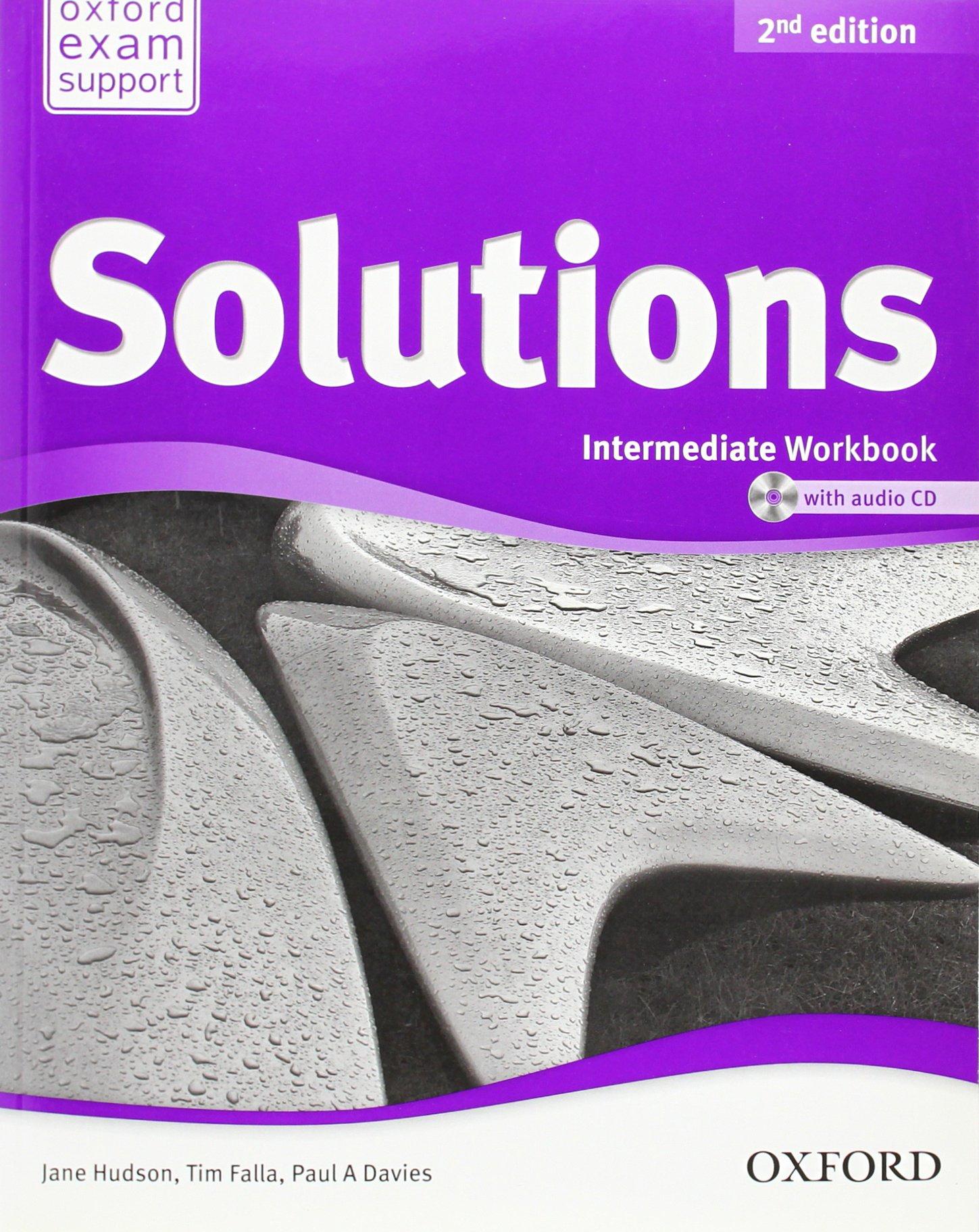 Solutions - Intermediate - Workbook and Audio CD