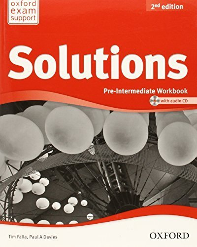 Solutions - Pre Intermediate - Workbook and Audio CD