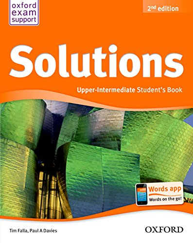 Solutions - Upper Intermediate - Student's Book