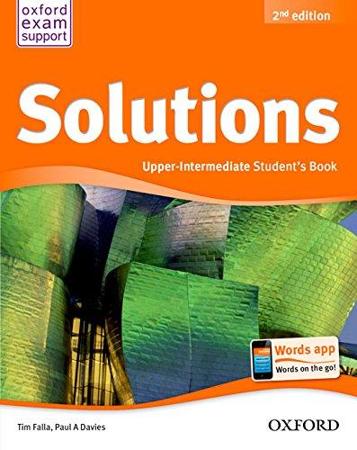 Solutions - Upper Intermediate - Student's Book