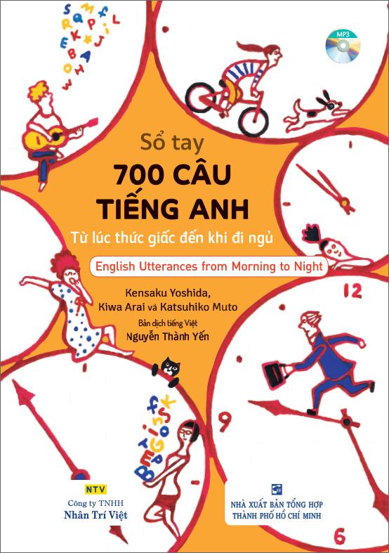 Sổ tay 700 câu tiếng Anh từ lúc thức giấc đến khi đi ngủ