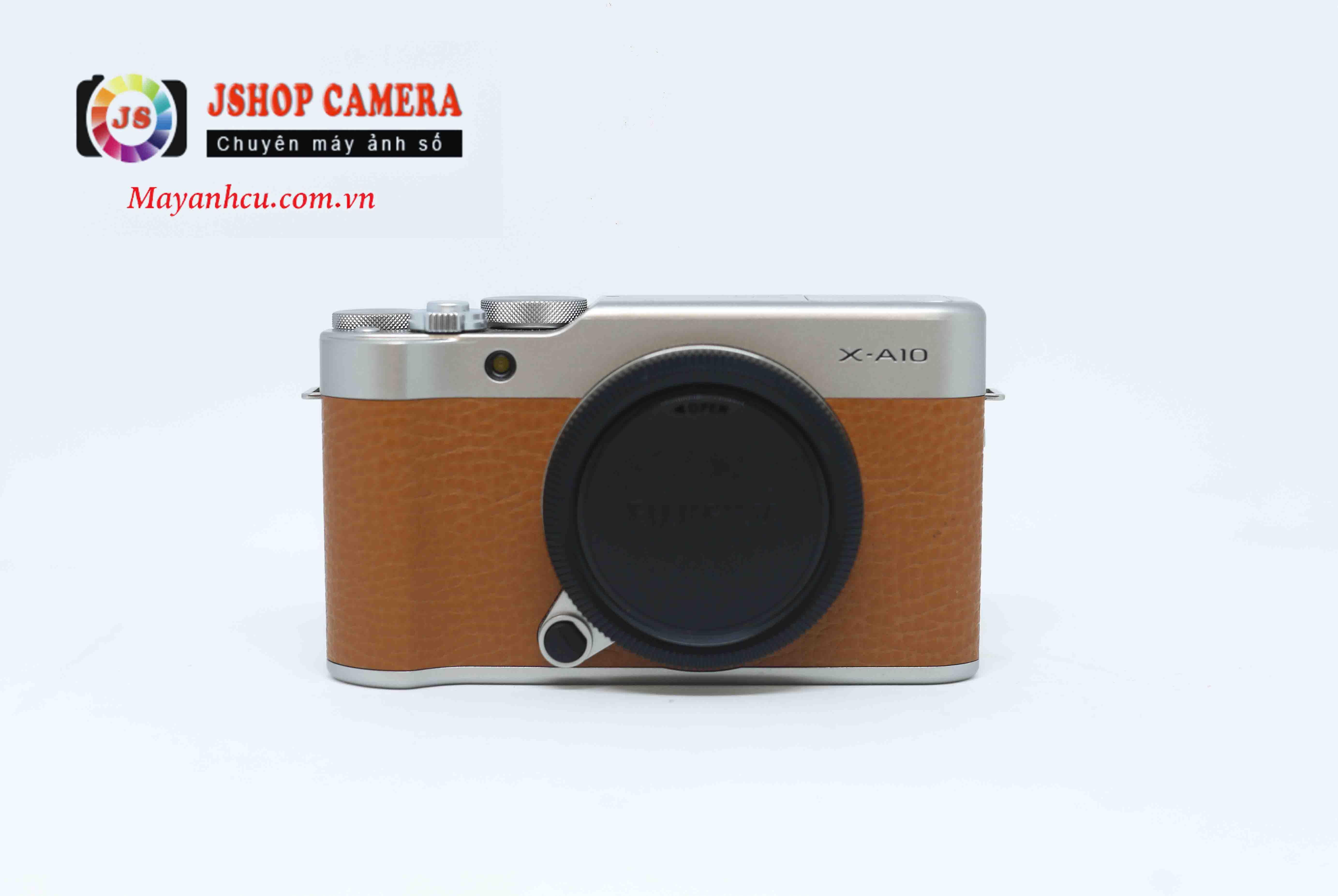 Máy ảnh Fujifilm X-A10 - Nâu