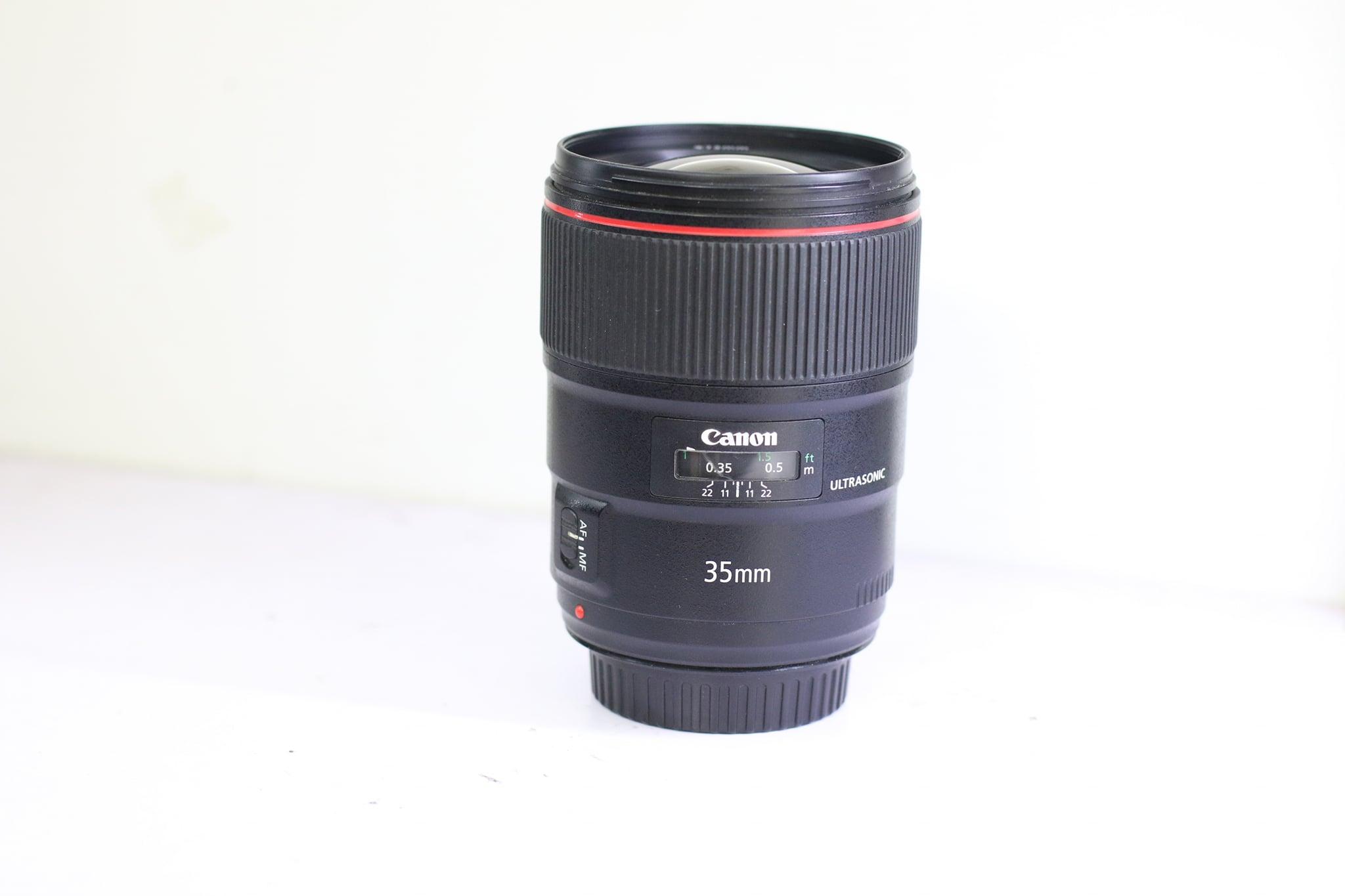 Ống Kính Canon EF 35mm F/1.4 L II USM Cũ
