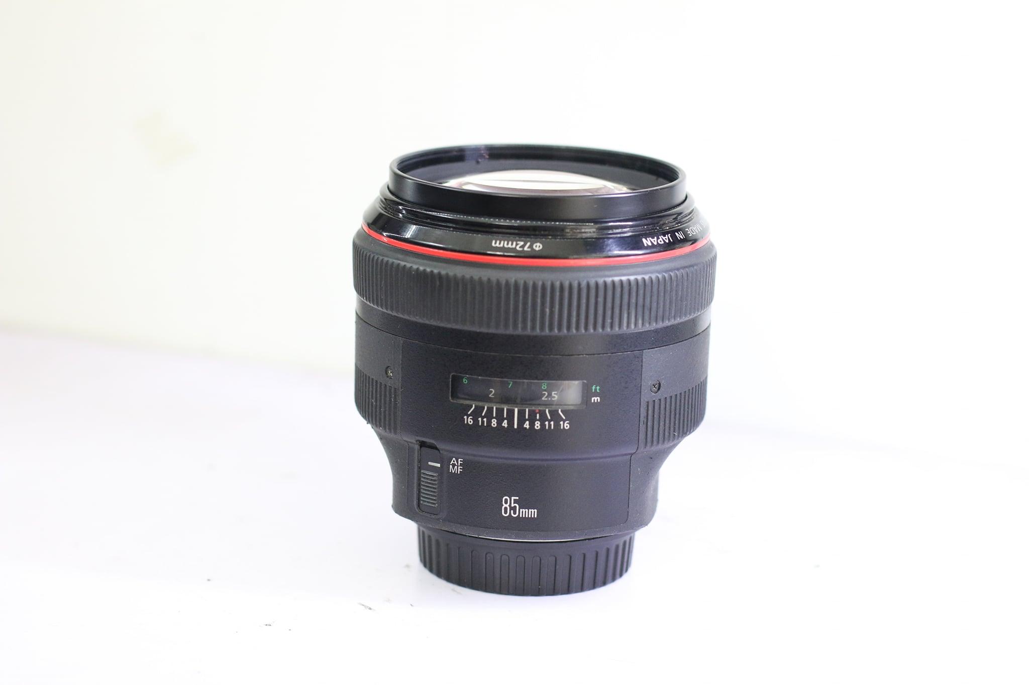 Ống Kính Canon EF 85mm F1.2 L USM Cũ Hàng Chính Hãng