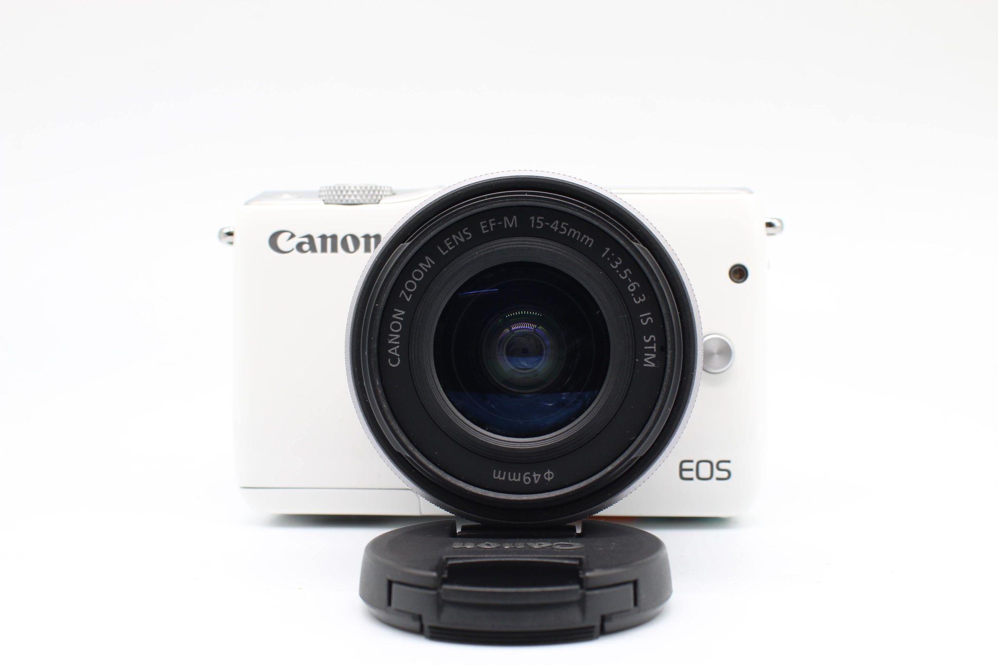 Máy Ảnh Canon EOS M10 Kit EF-M15-45 (White)