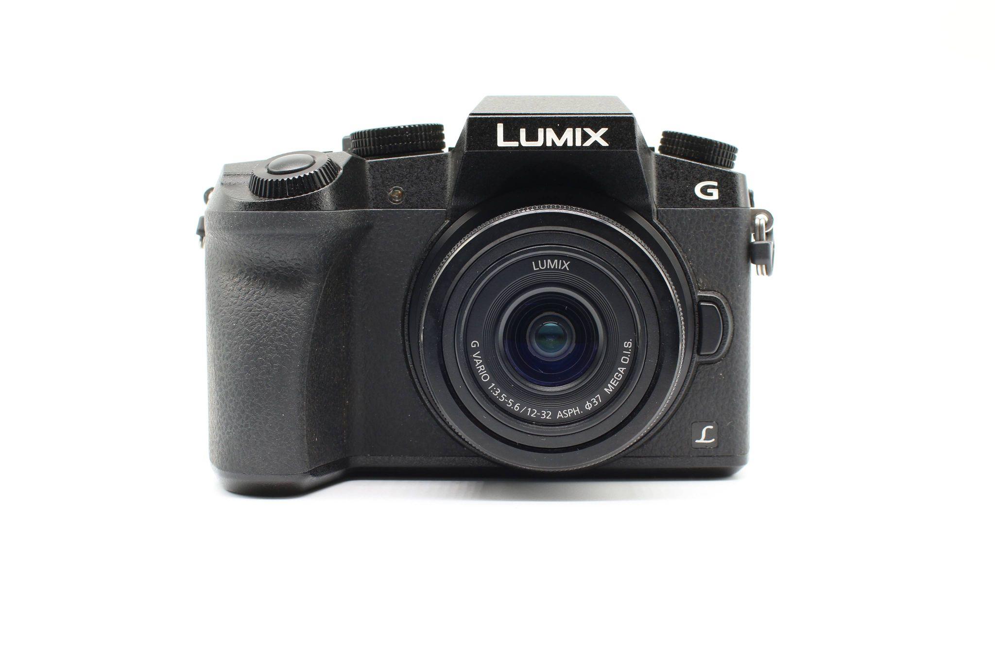Máy ảnh Lumix DMC-G7 kèm lens 12-32 f/3.5-5.6, Mới 98%