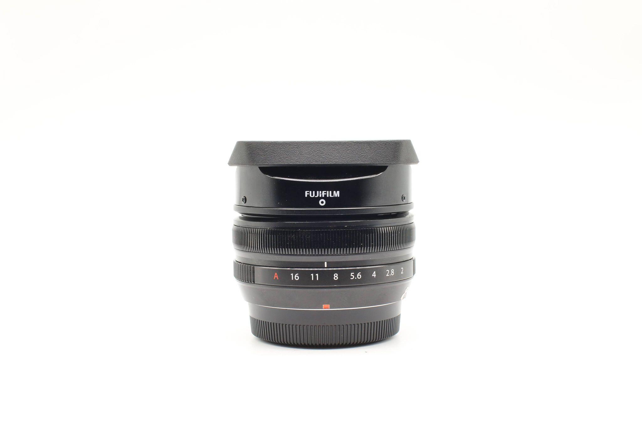 Ống kính Fujifilm XF 18mm F/2, Mới 98%