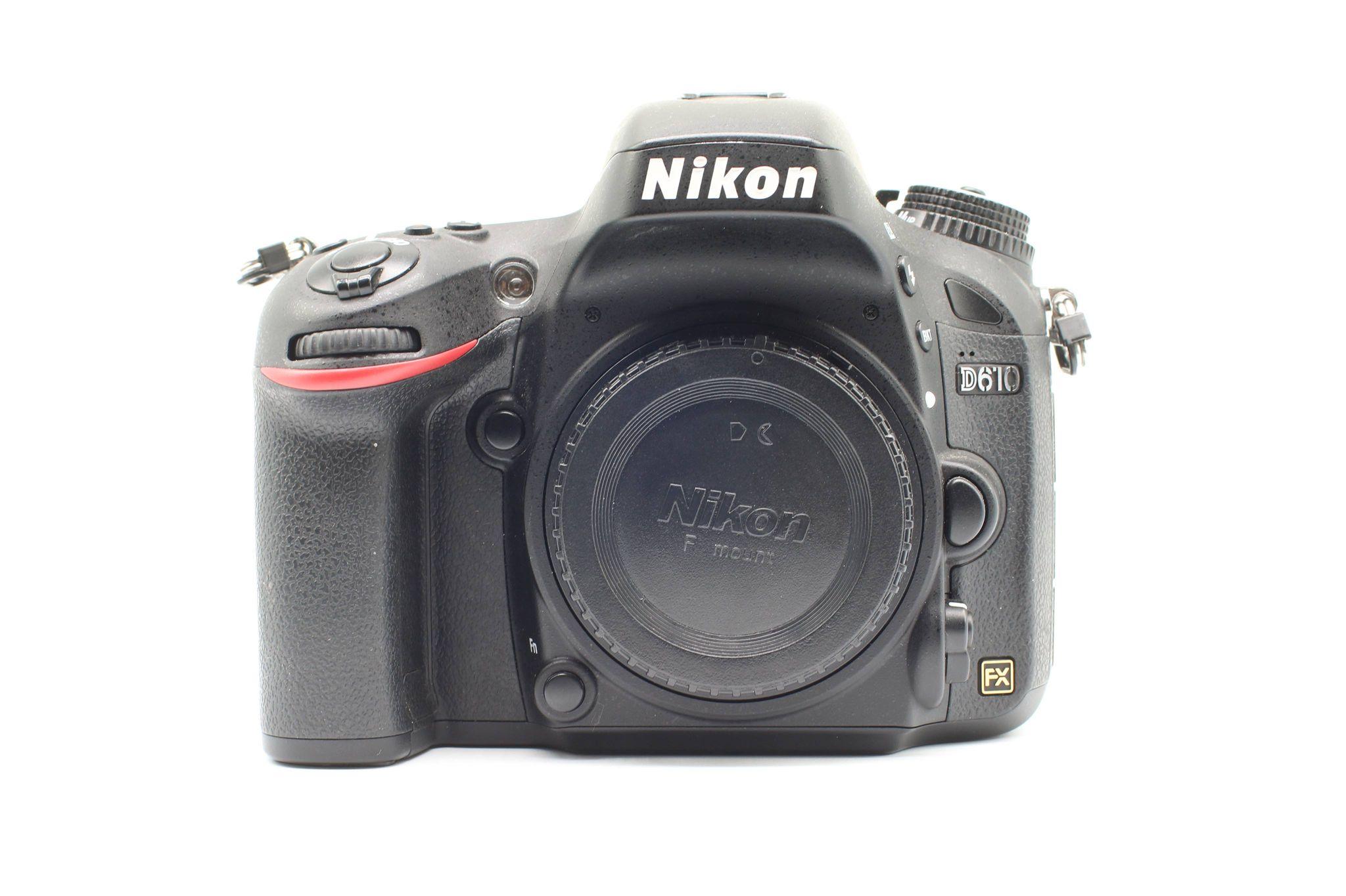 Máy ảnh Nikon D610 Body, Mới 98%