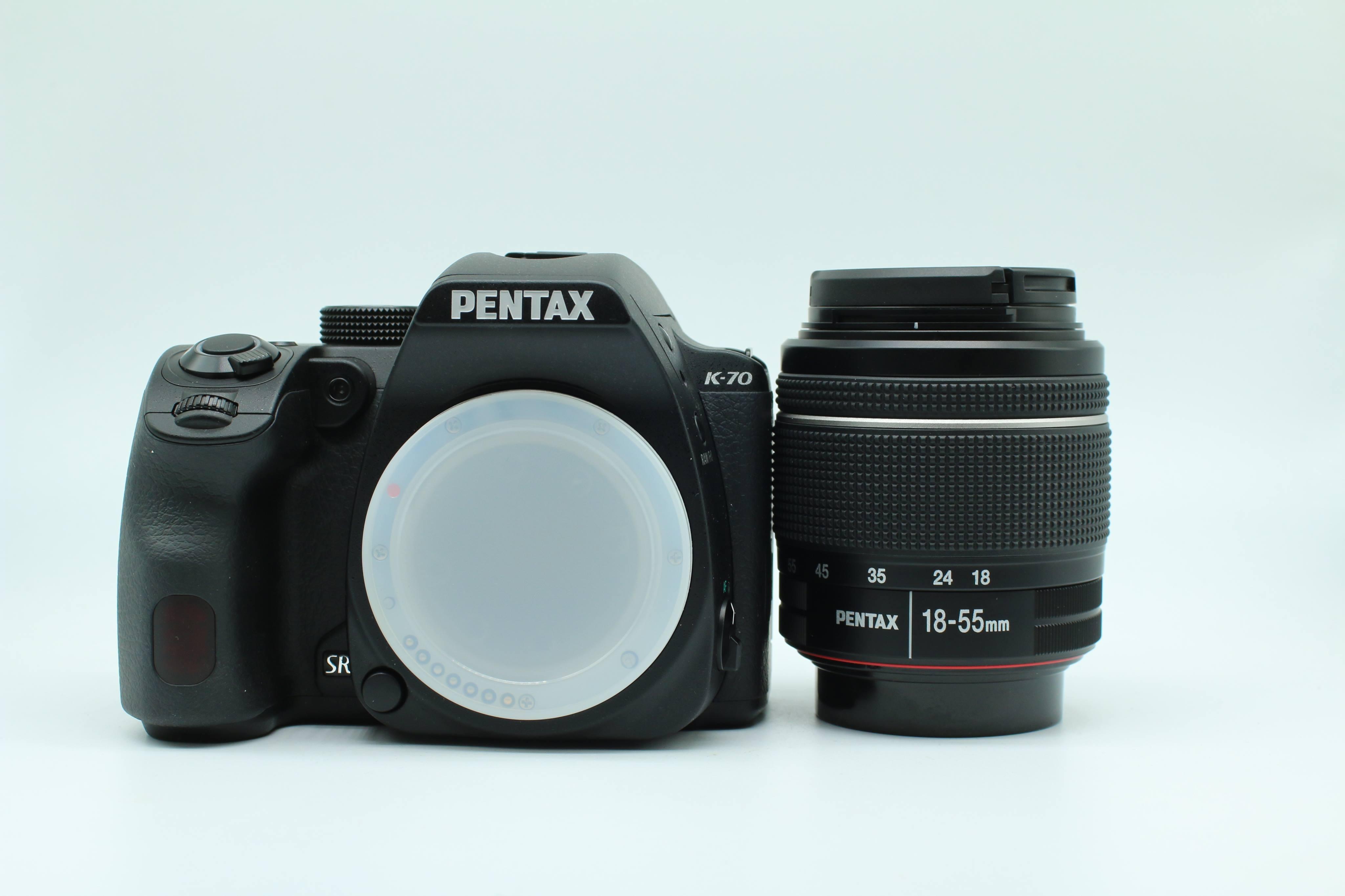 Máy ảnh Pentax K-70 + 18-55mm F/3.5-5.6 AL WR FullBox , Mới 100%