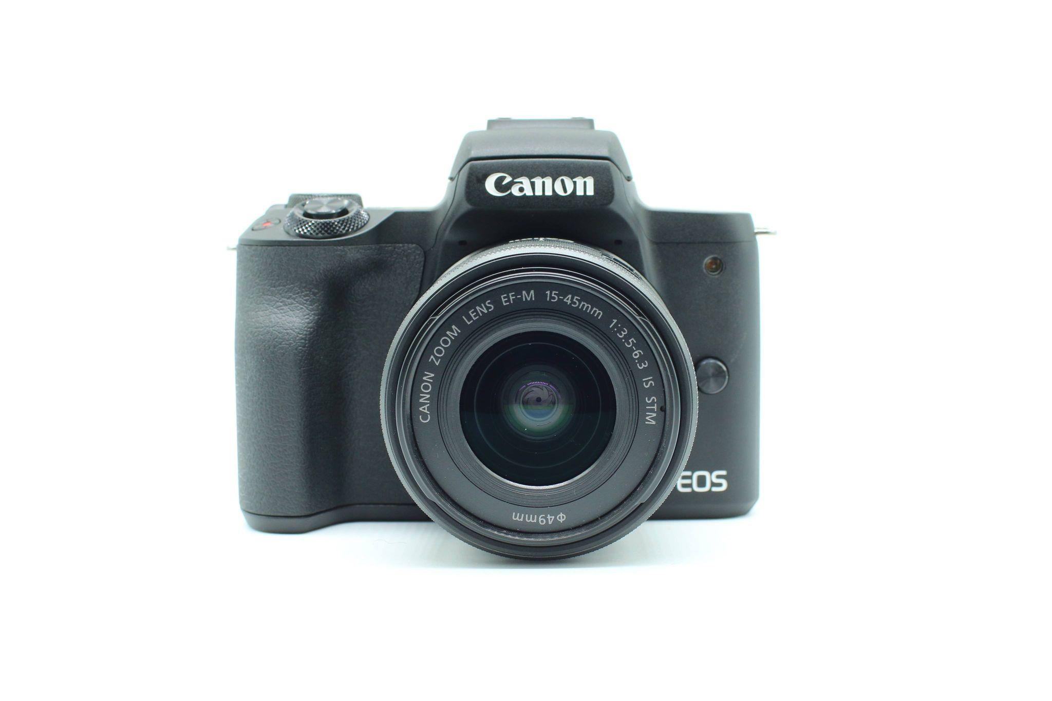 Máy ảnh Canon EOS M50 Mark II + Kit 15-45mm (Black)