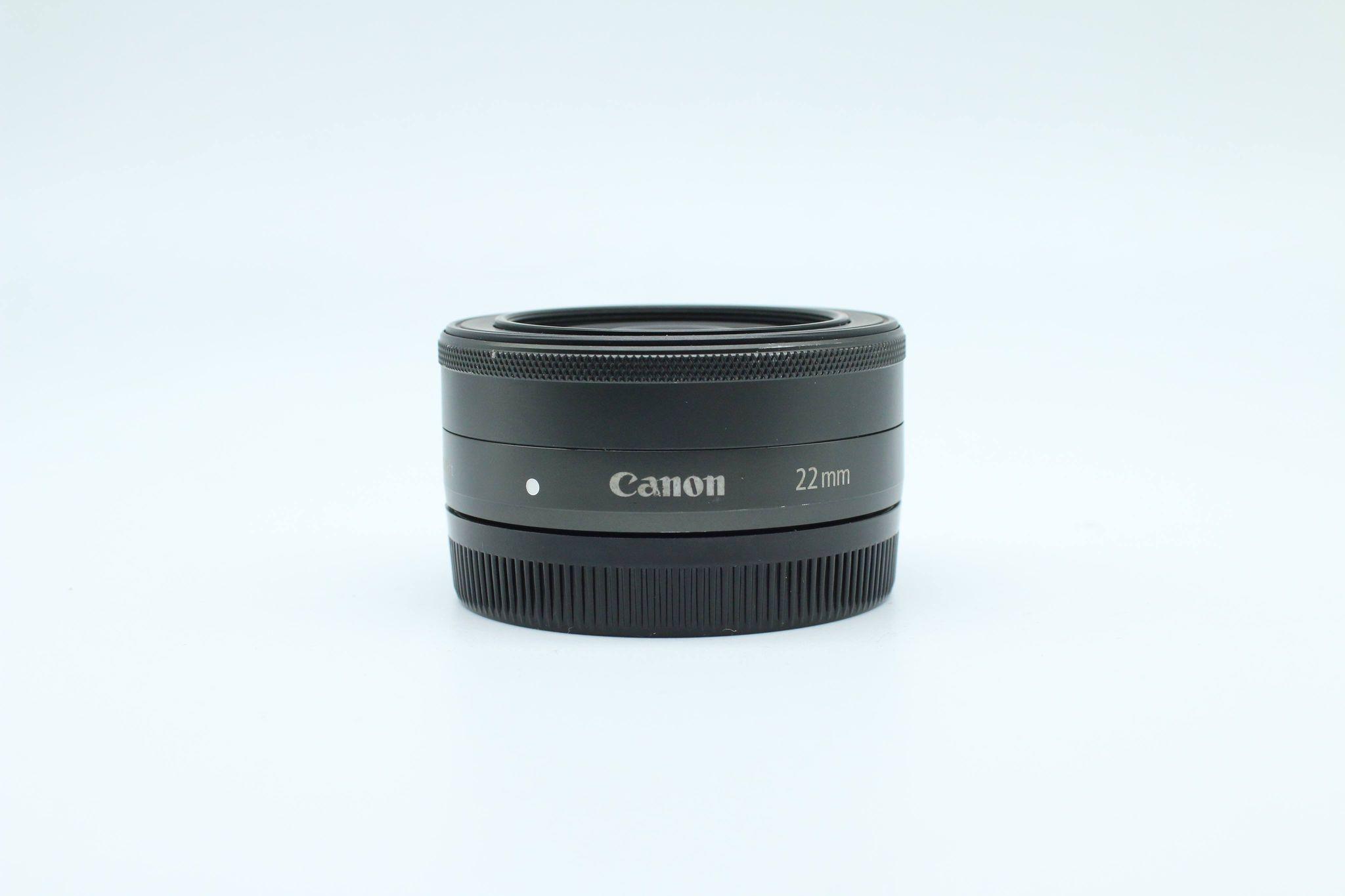 Ống kính Canon EF-M 22mm f1.2 STM , Đen
