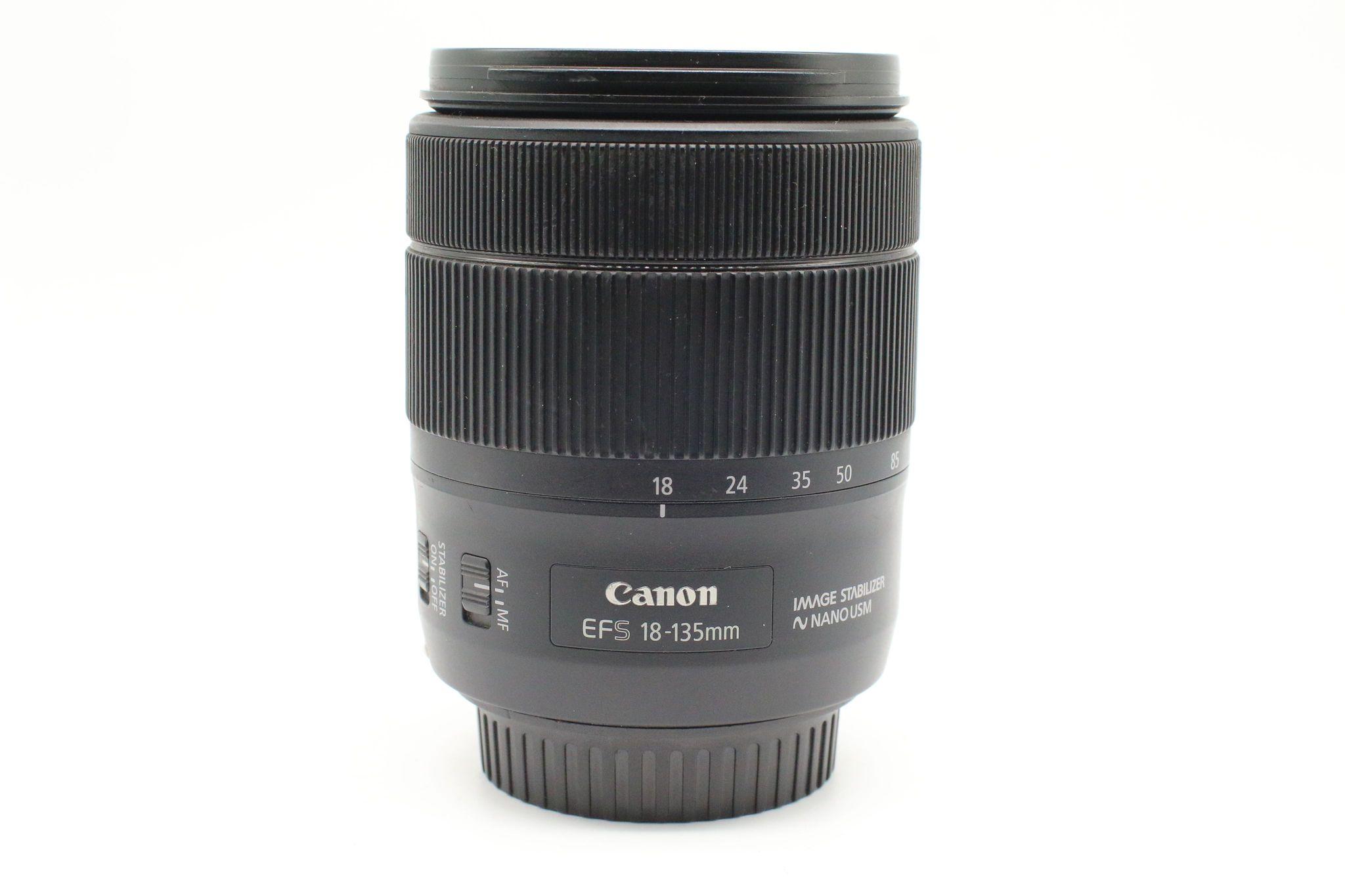 Ống kính Canon EF-S 18-135mm f/3.5-5.6 IS Nano USM