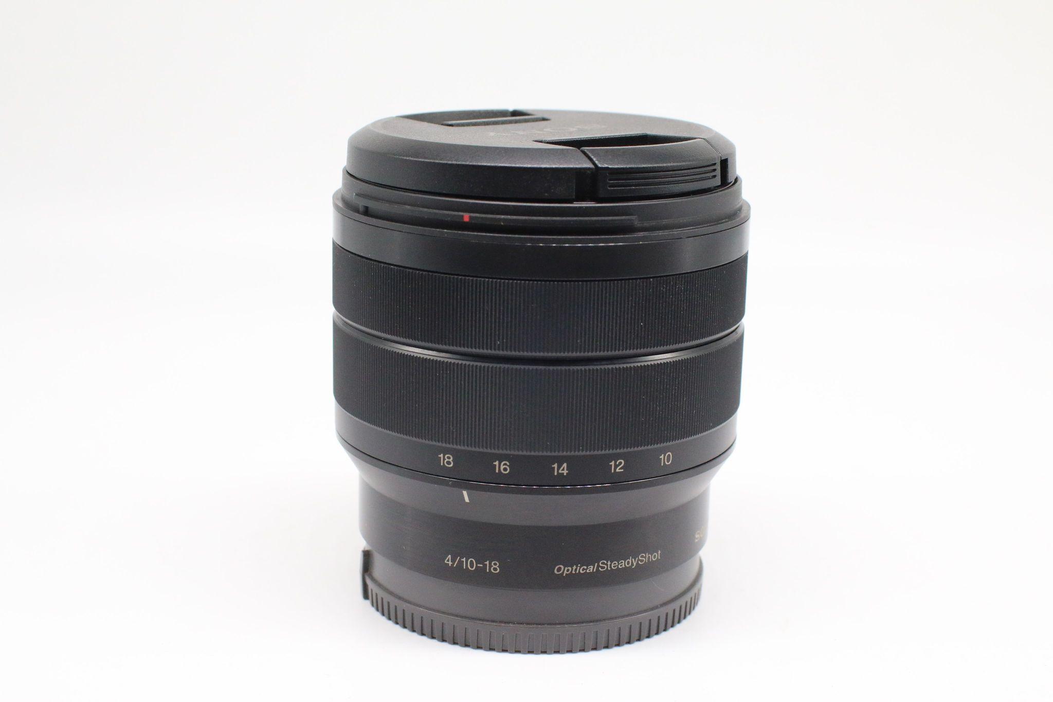 Ống kính Sony E 10-18mm F4 OSS