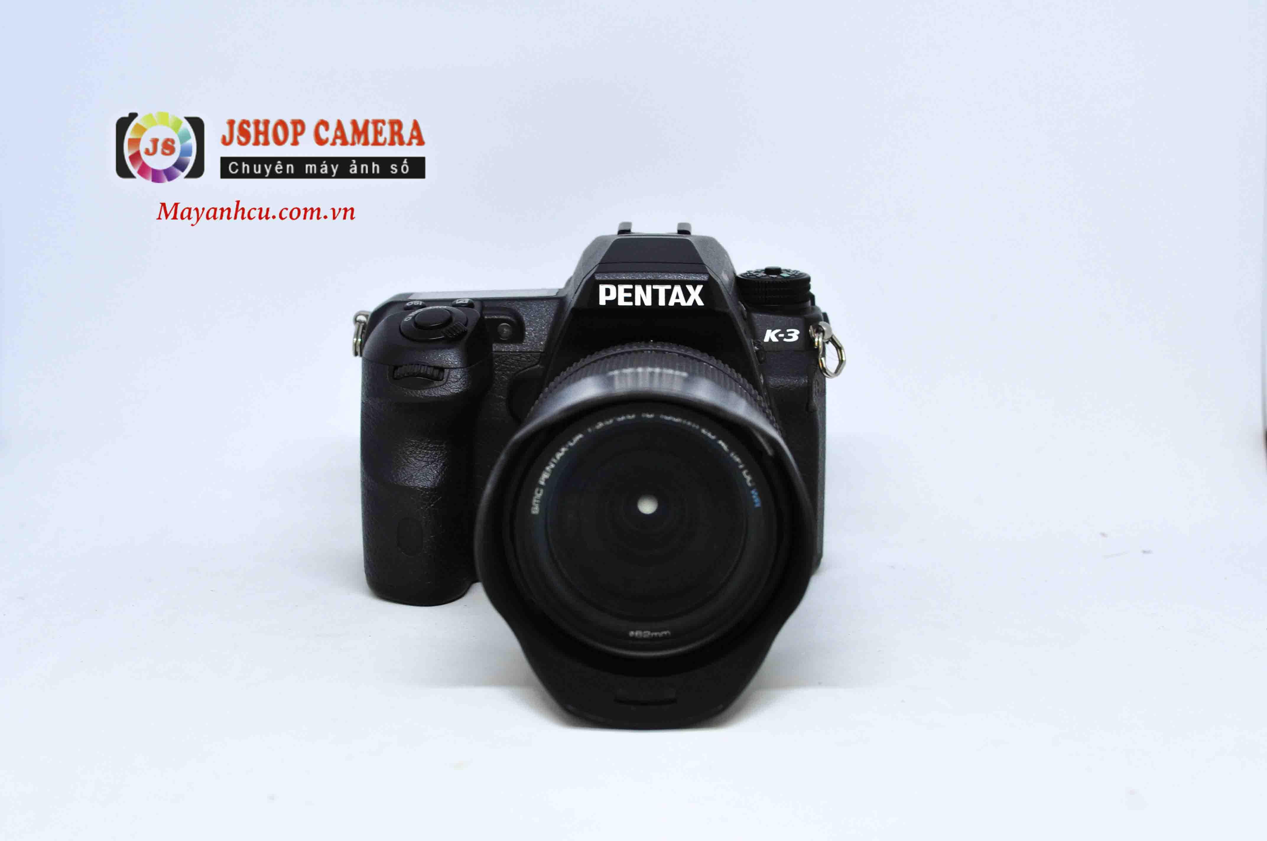 Máy ảnh Pentax K-3 + Ống kính 18-135mm F3.5-5.6