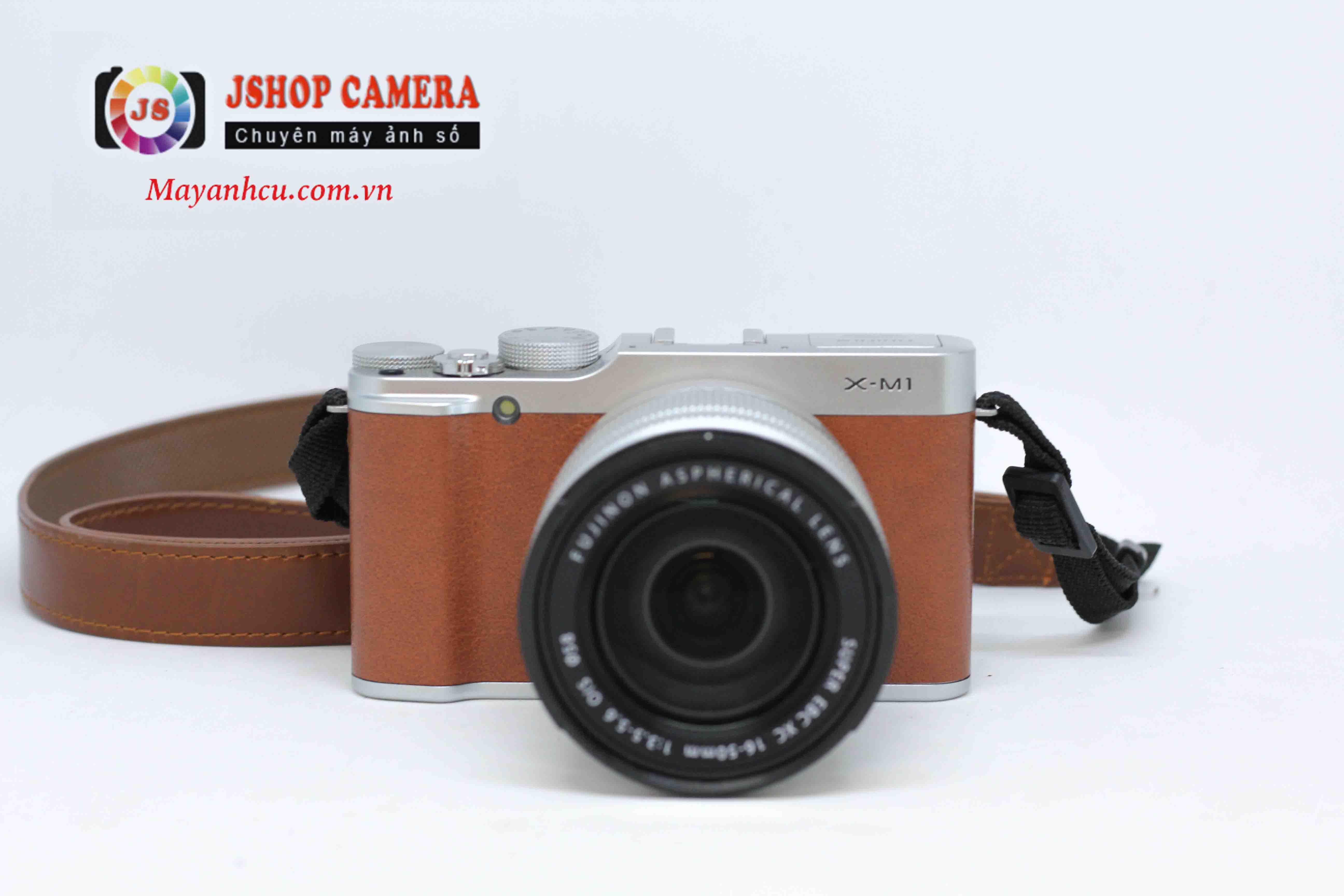 Máy ảnh Fujifilm X-M1 + Ống kính 16-50mm