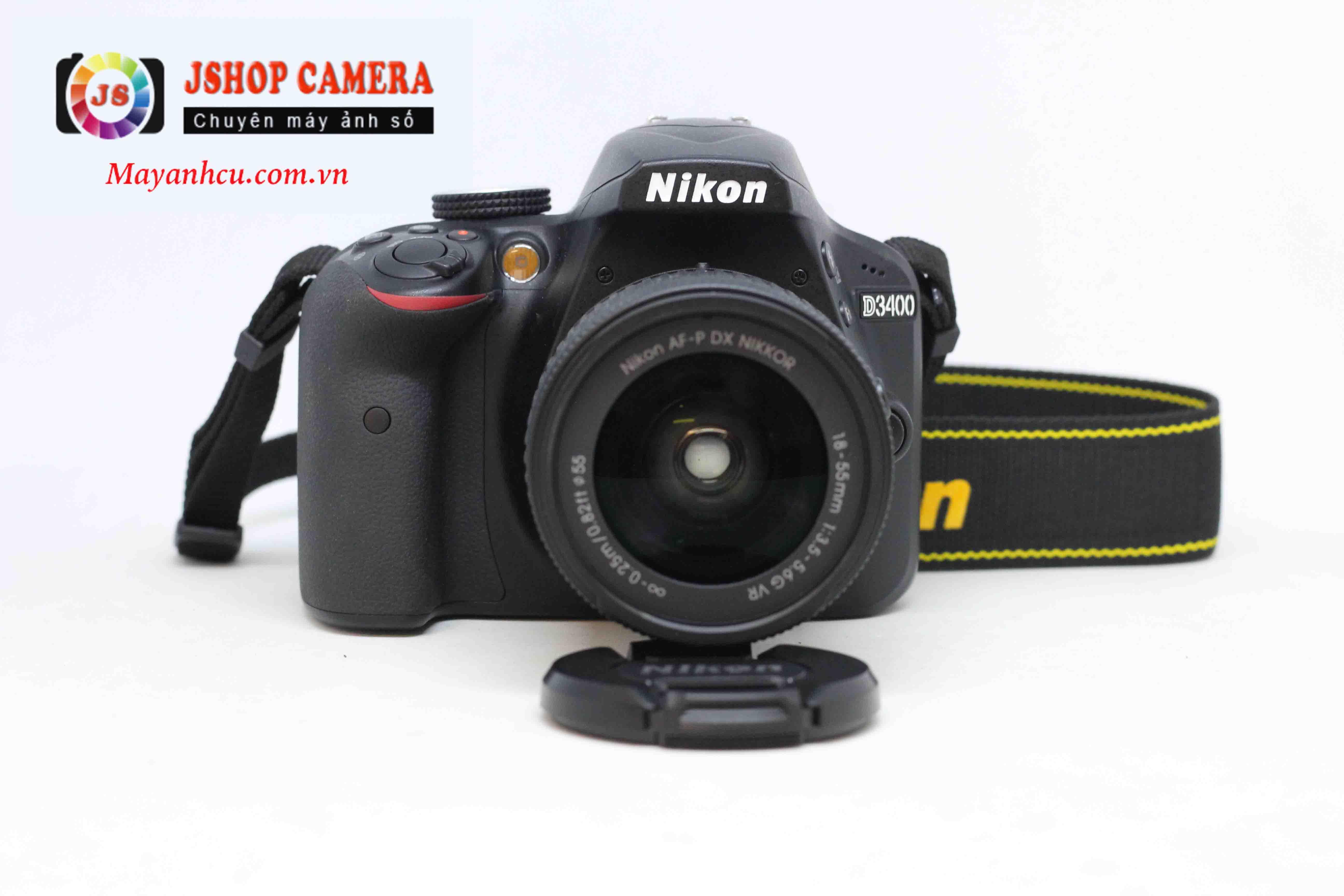 Máy ảnh Nikon D3400 + Lens 18-55mm F/3.5-5.6 VR ( Hàng chính hãng VIC VN )