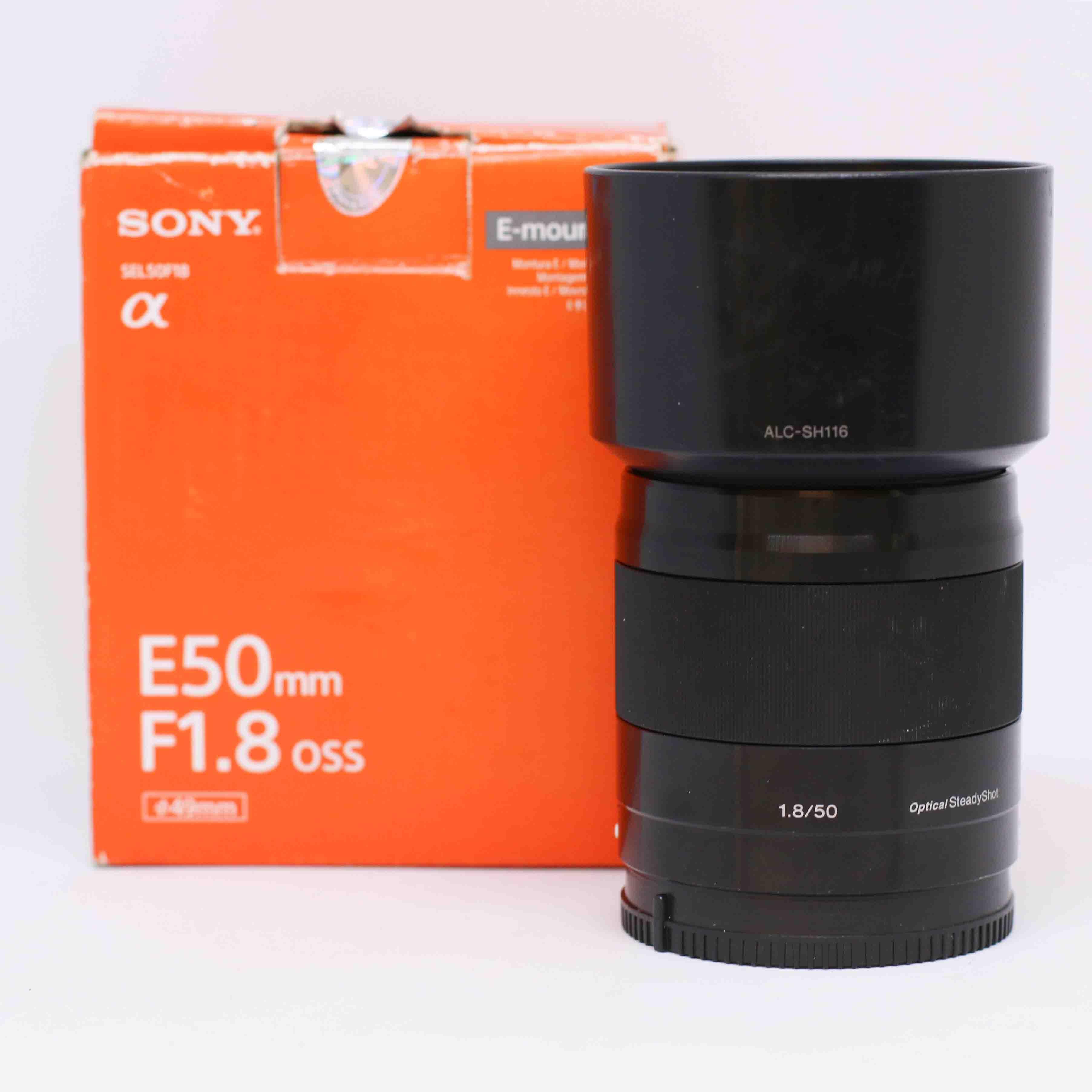Ống kính Sony SEL E 50mm F/1.8 OSS