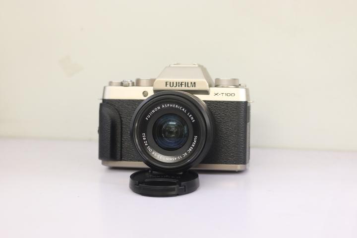 Máy Ảnh Fujifilm XT100 Kèm Ống 15-45mm PZ