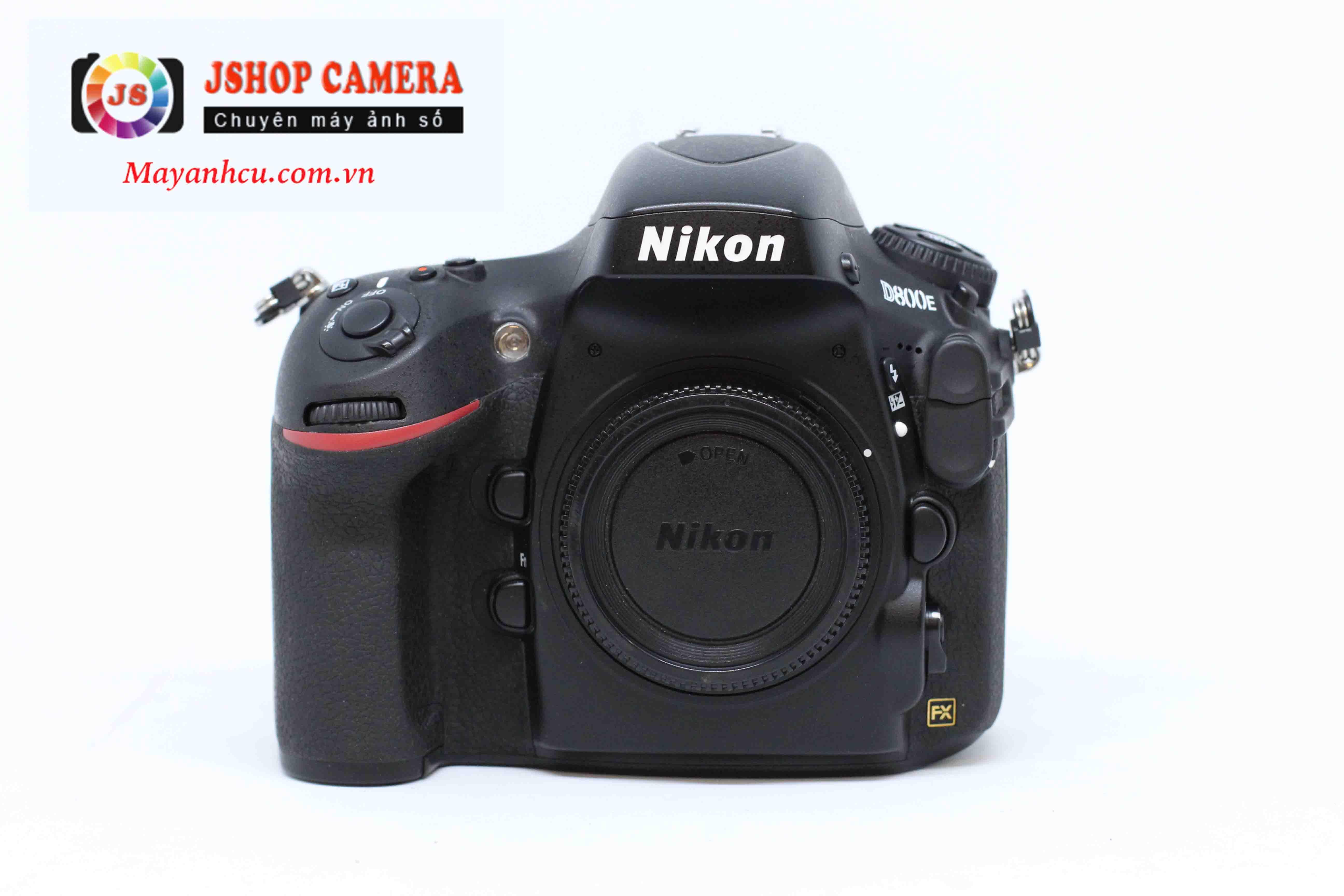 Máy Ảnh Nikon D800E (Body)