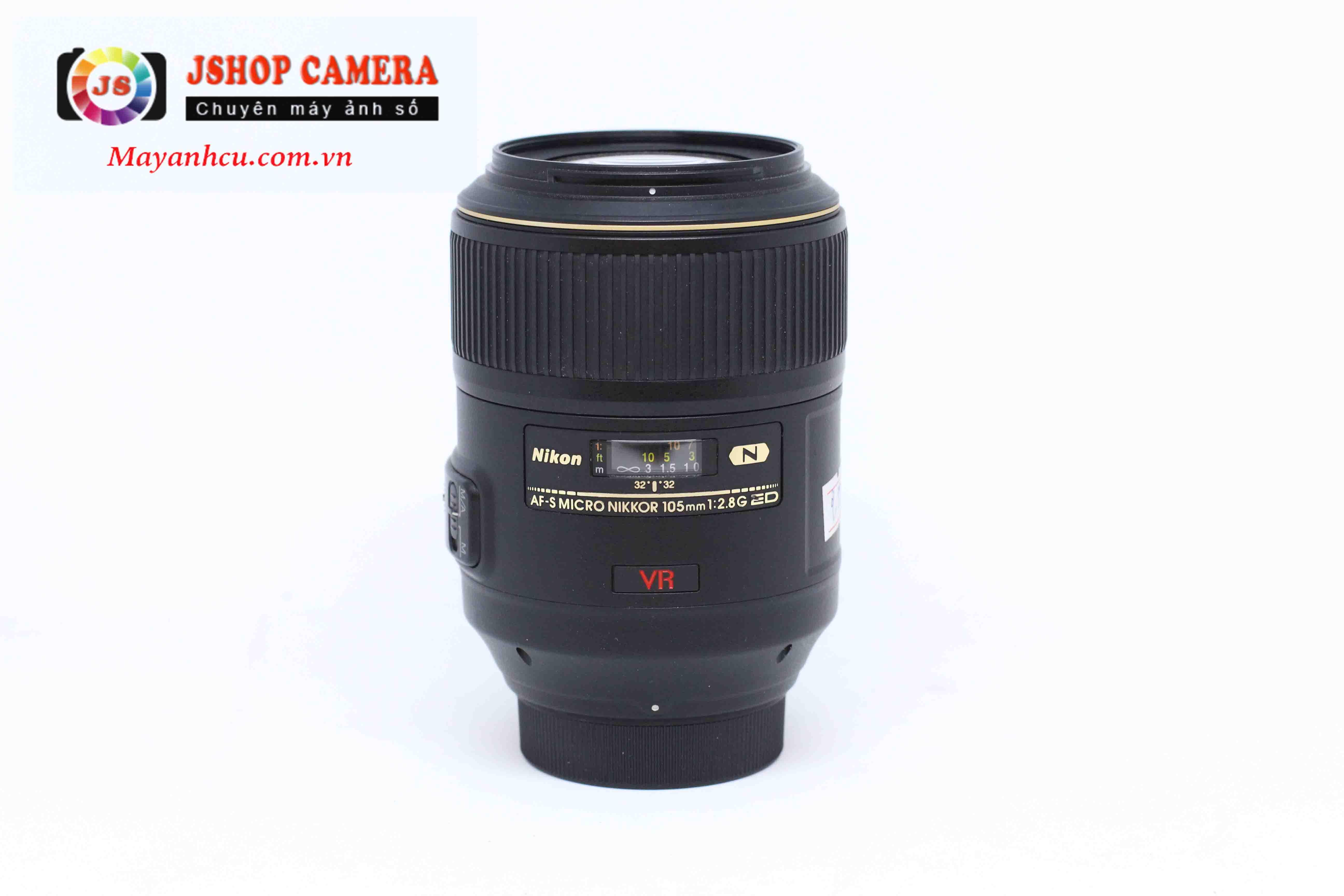 Ống kính Nikon Micro 105mm F/2.8 ED VR Nano