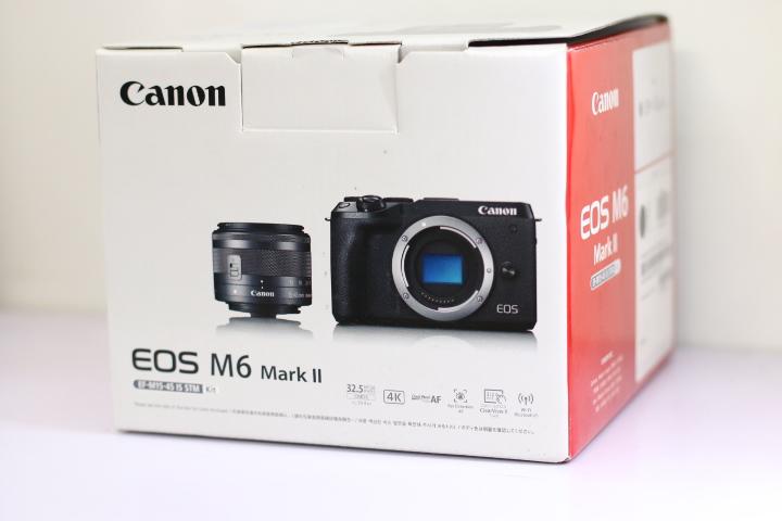 Fullbox Canon EOS M6 Marl II Hàng chính hãng