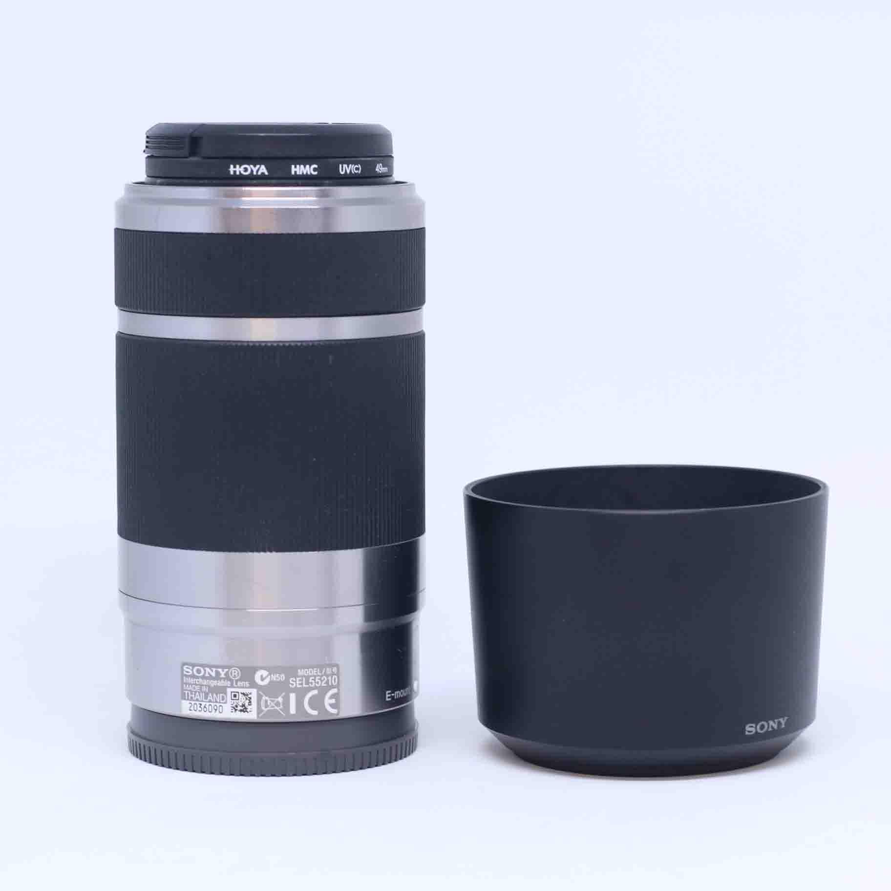 Ống kính Sony 55-210mm F/3.5-5.6 ( Bạc )