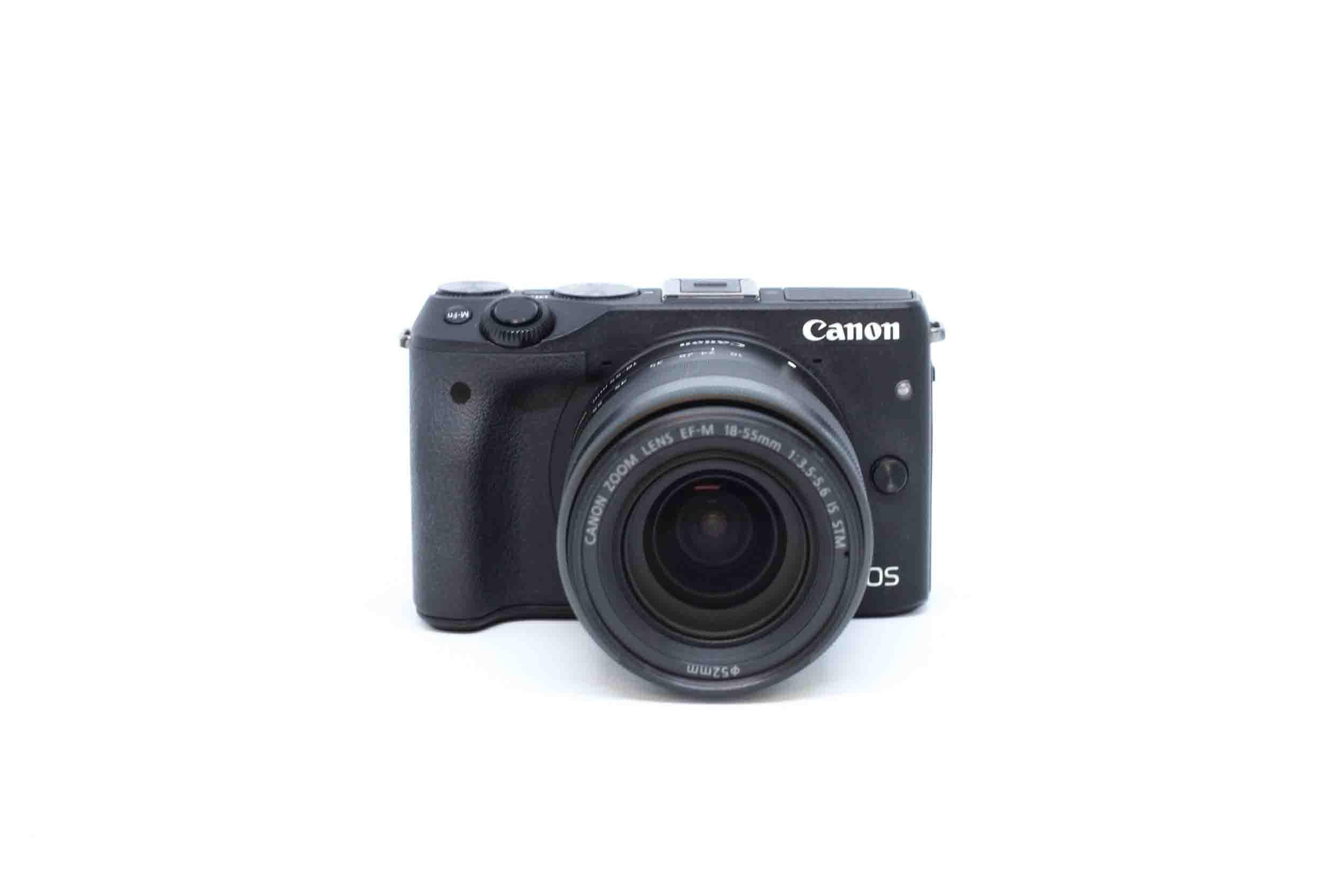Máy ảnh Canon EOS M3 kèm ống kính EF-M 18-55mm IS STM