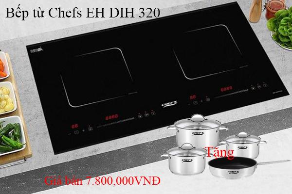Top 3 bếp từ Chefs chính hãng có giá rẻ tháng 4/2021