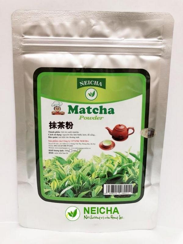 Bột trà xanh Matcha Đài Loan Neicha 1.0Kg